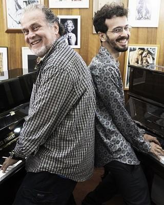 Marcos Ariel e Tomás Gonzaga: unidos pelas teclas