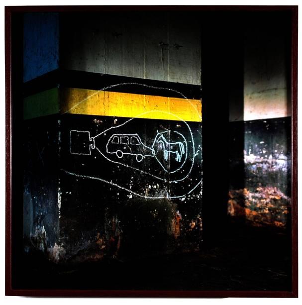 Obra de Matheus Rocha Pitta: em coletiva que aborda as relações entre arte, imagem e psicanálise
