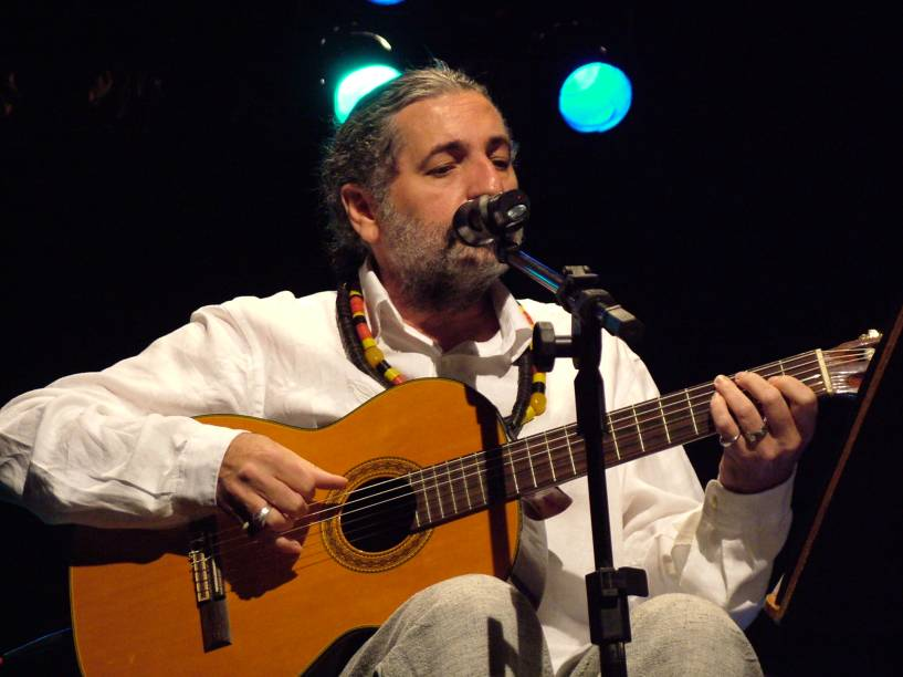 O sambista Moacyr Luz