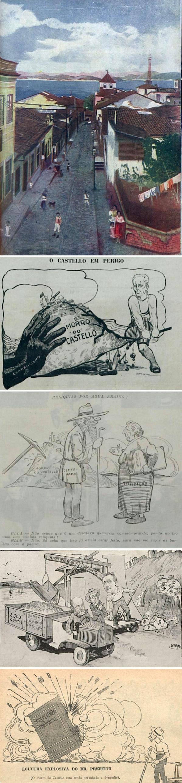 fon-fon-malho-revista-da-semana-e-as-ilustrações-e-desenhos-que-retratam-o-desmonte-do-morro-do-castelo
