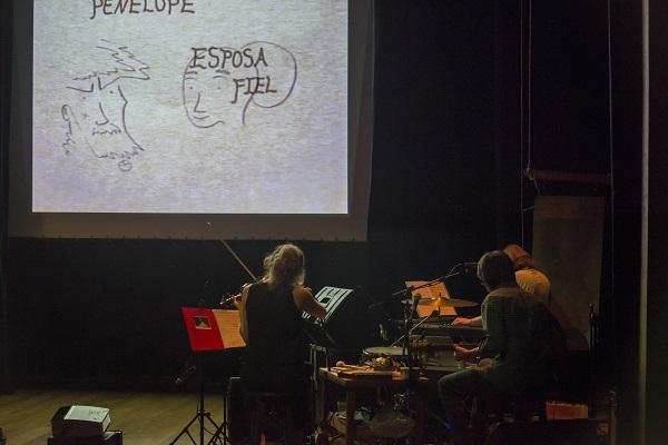 A Odisseia, pela companhia The Paper Cinema (crédito: Rogério Alvez)
