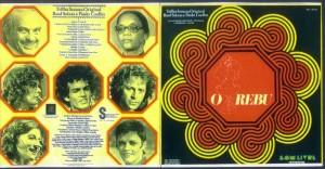 Capa e contracapa do LP original: trilha inesquecível