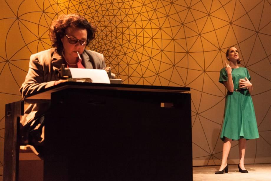 Kelzy Ecard e Carolina Ferman: bons momentos de contracena