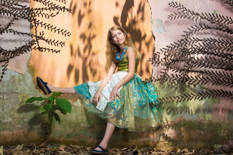 A atriz Maitê Serejo: ela vai interagir com as crianças em uma encenação improvisada durante o circuito