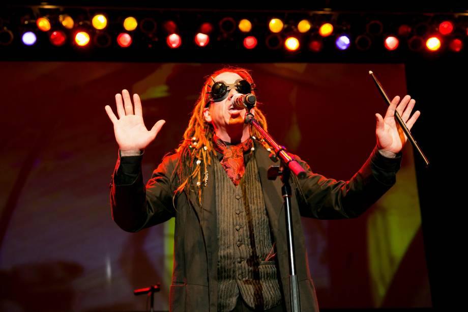 Kurt Harland, vocalista do Information Society: atração principal