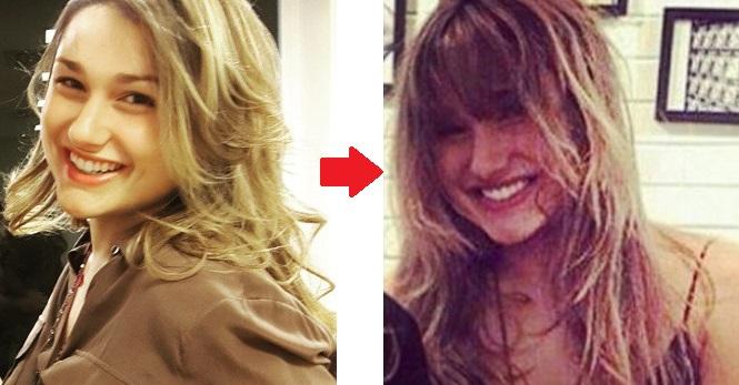 sasha antes e depois