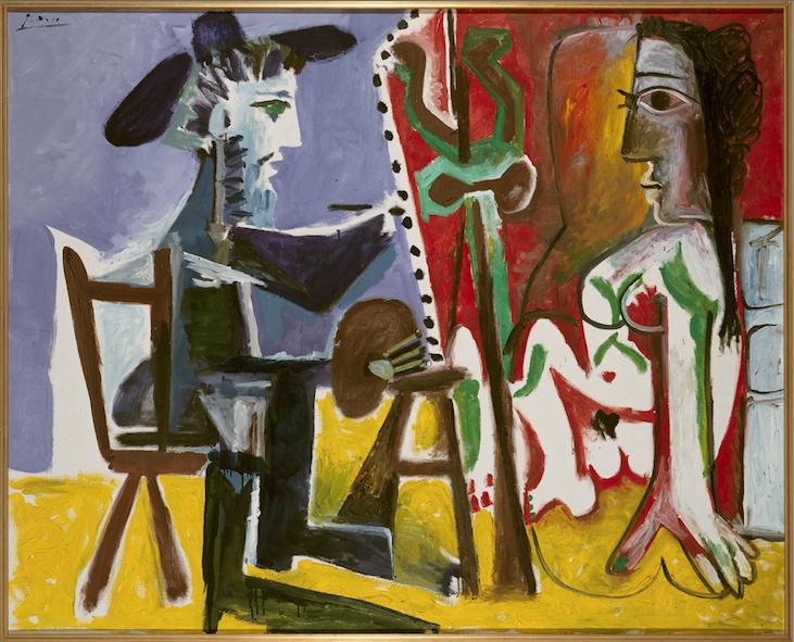 O Pintor e a Modelo (1963), de Picasso: modernidade espanhola
