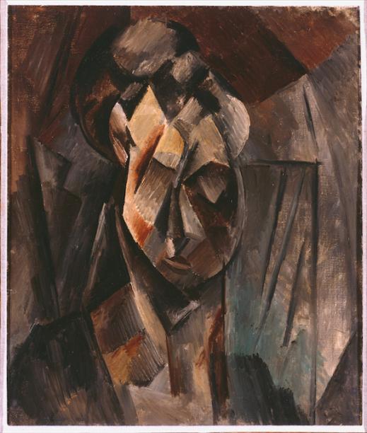 Cabeça de Mulher (1910), de Picasso: modernidade espanhola