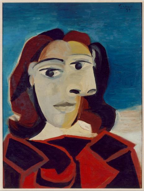 Retrato de Dora Maar (1939), de Picasso: modernidade espanhola