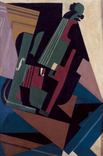 O Violino (1916), de Juan Gris: modernidade espanhola