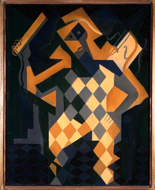 Arlequim com Violino (1919), de Juan Gris: modernidade espanhola