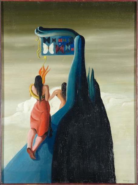 Borboletas Perdidas na Montanha (1934), de Óscar Domínguez: modernidade espanhola
