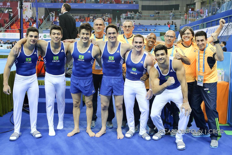 seleção brasileira ginastica artistica