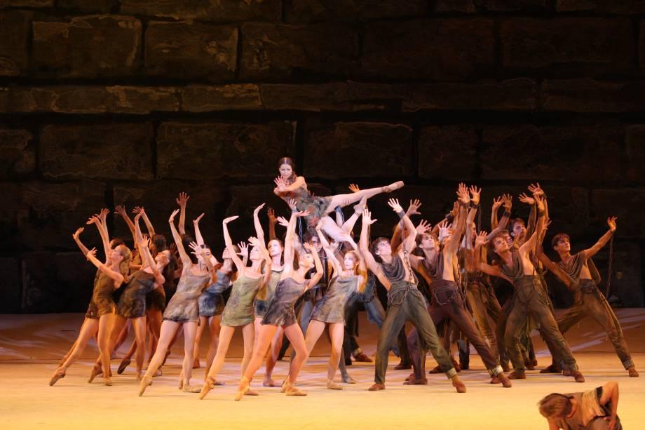 Spartacus: clássico pelo Balé do Teatro Bolshoi