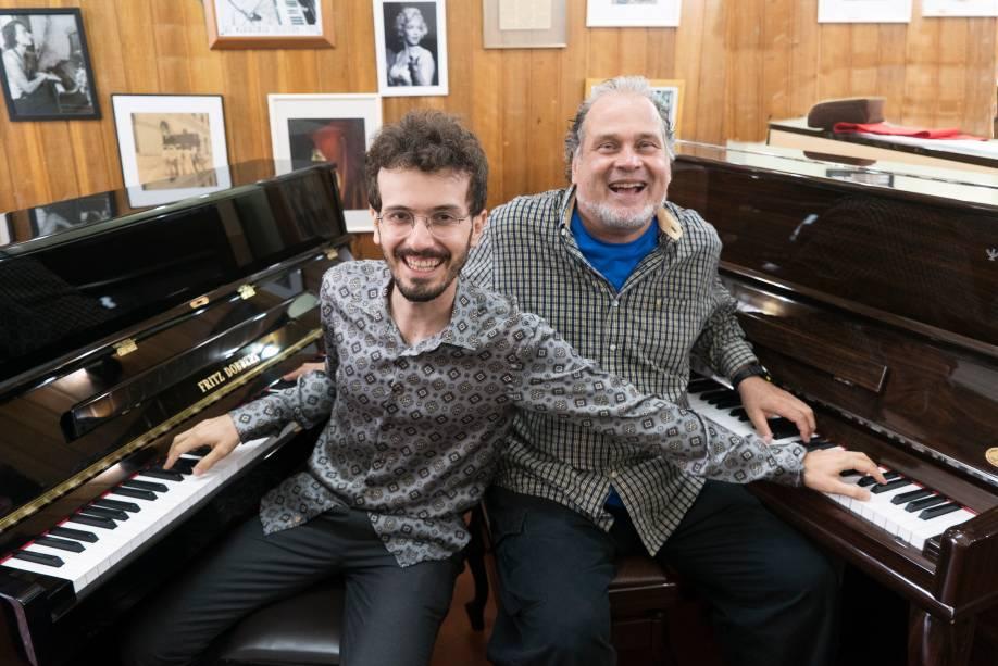 Tomas Gonzaga e Marcos Ariel: piano a quatro mãos