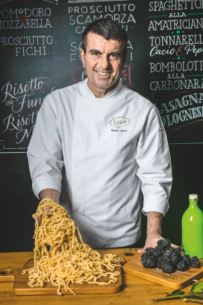 Renato Ialenti: o chef italiano apresenta por aqui preparos típicos, e menos comuns, de sua terra