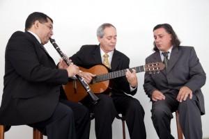 Nailor Proveta, Edson Alvez e Renato Braz em foto de Caio Palazzo: na Caixa Cultural de quinta (16) a sábado (18)
