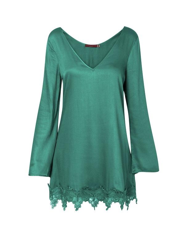 Vestido barra guipir R$ 119,95 A