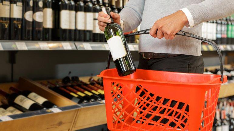 vinho mercado