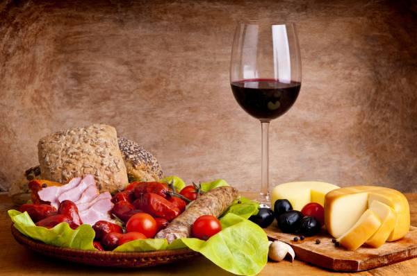 vinhoecomida