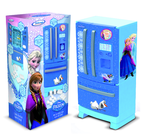 XALINGO - Refrigerador Side By Side Frozen Disney