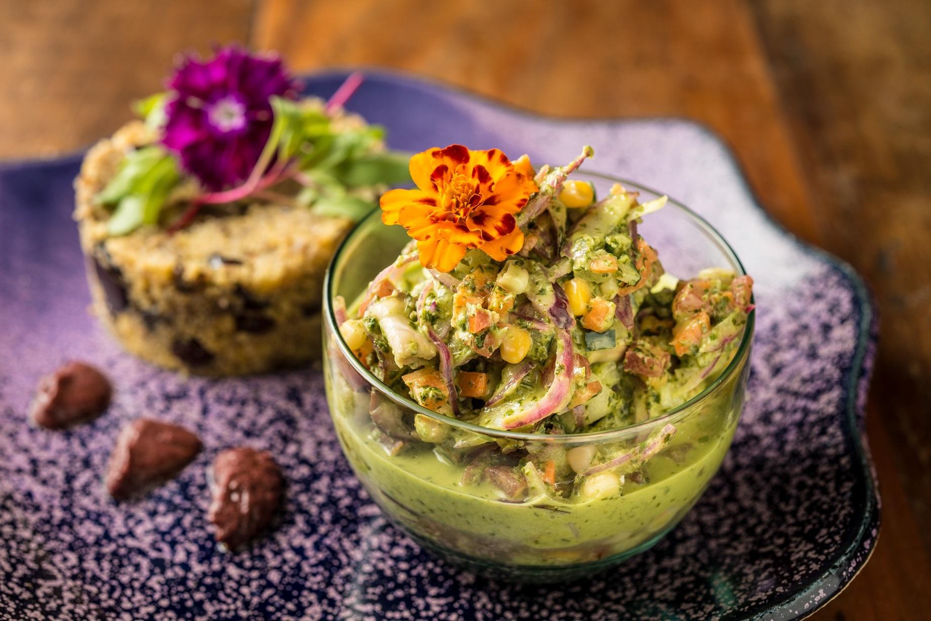 Ceviche de cogumelos: um dos pratos que a chef vaui ensinar