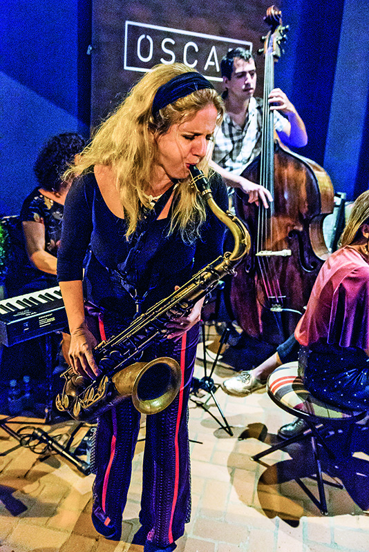 Daniela Spielmann: jazz aos domingos no La Nave