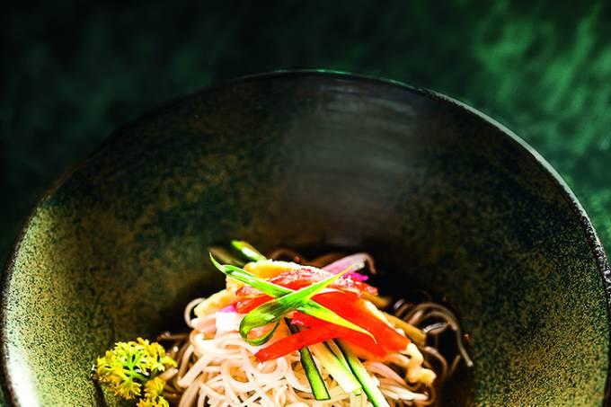 Hiyashi Somen, Sushi Izakaya Mok