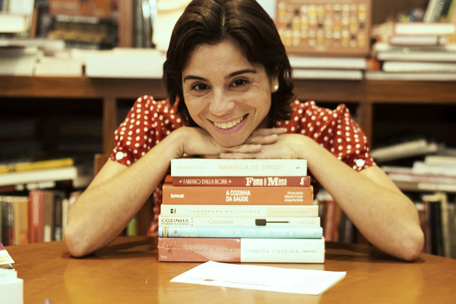 A coordenadora, Juliana Dias