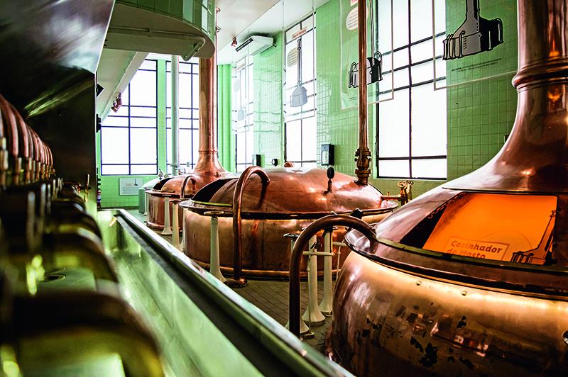 Instalações da fábrica da Bohemia: boa dica de passeio