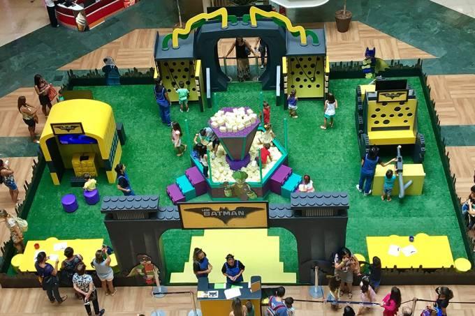 Lego é atração no Plaza Shopping