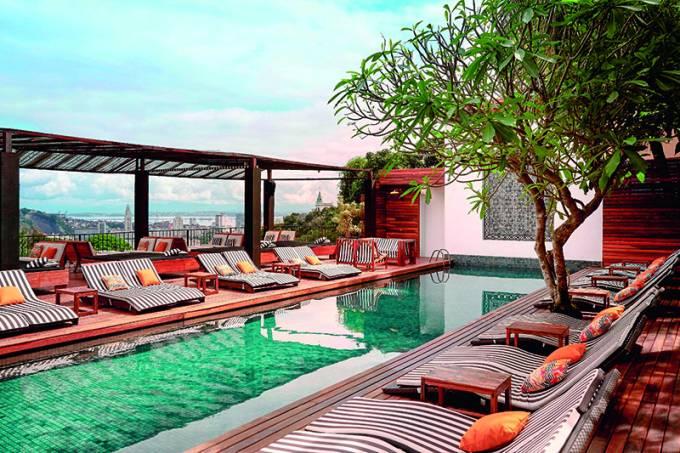 Hotel Santa Teresa – piscina