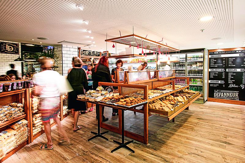 A nova Le Dépanneur: no Shopping Leblon