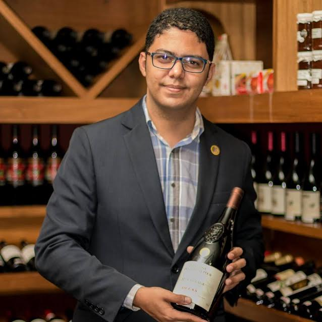 Wallace Neves, do L'Etoile: sommelier está na disputa