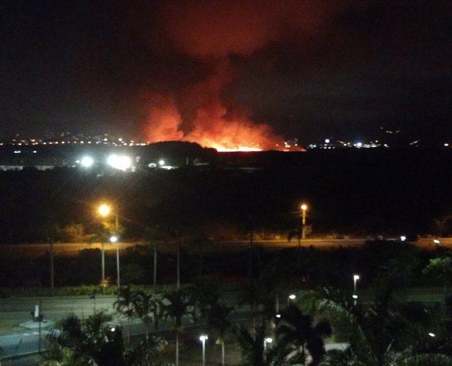 Incêndio Barra da Tijuca