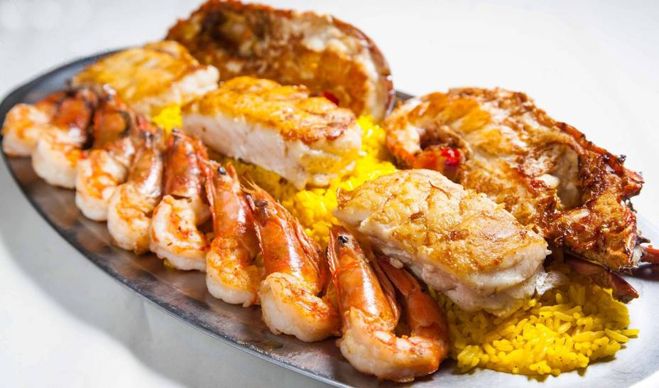 Delícias do mar: um hot no menu do Skinna, especializado em frutos do mar
