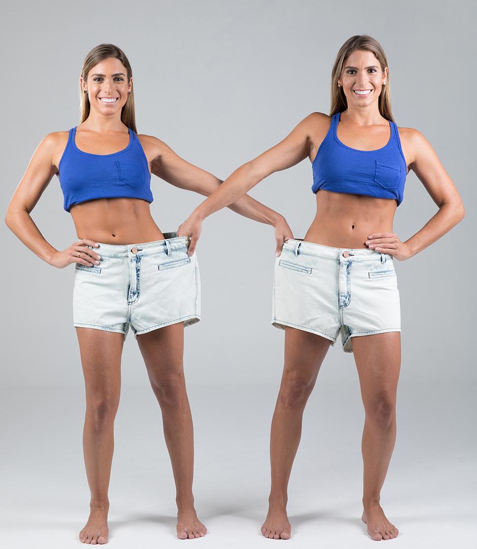 Bia e Branca Feres: doze horas sem comer para perder os quilos acumulados depois dos Jogos Olímpicos
