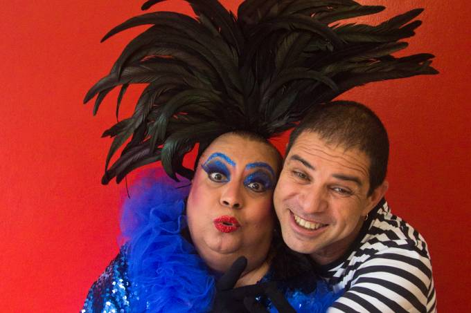 Maria Alcina e Paulo Padilha