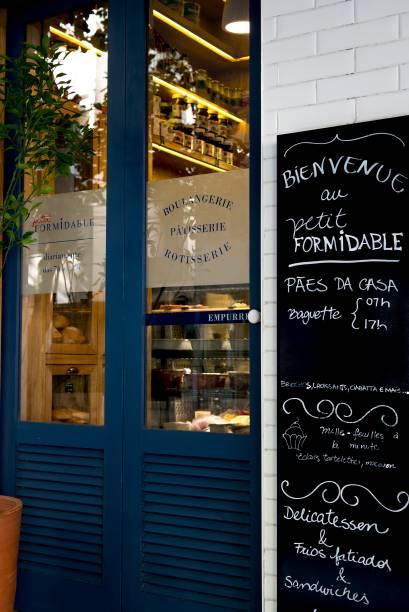 Fachada do Petit Formidable: a padaria de Artagão