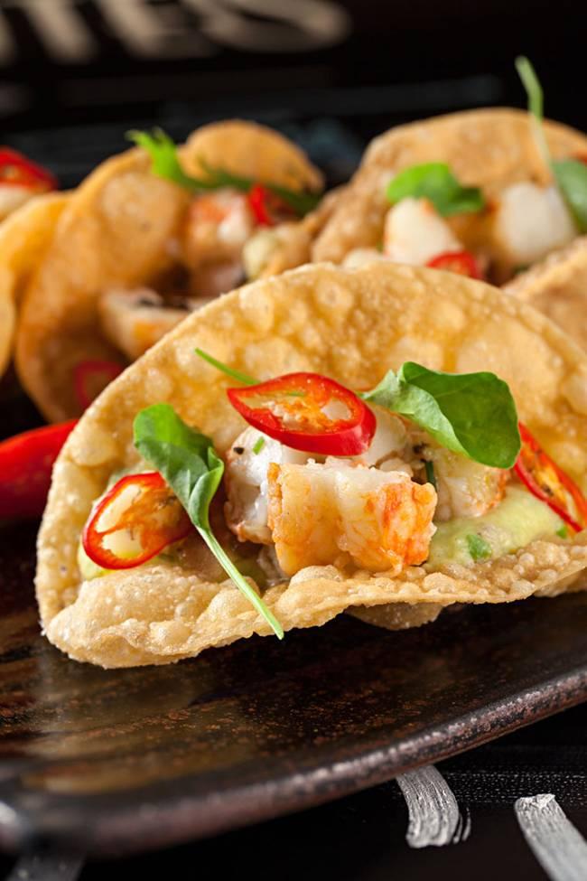 Tortilla de lagostim: criação do chef Kiko Faria