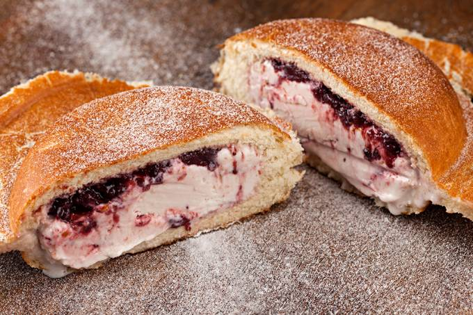 Sanduiche de sorvete; Vero Gelato e Cafe