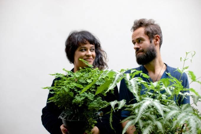 Tulipa Ruiz e Marcelo Jenenci