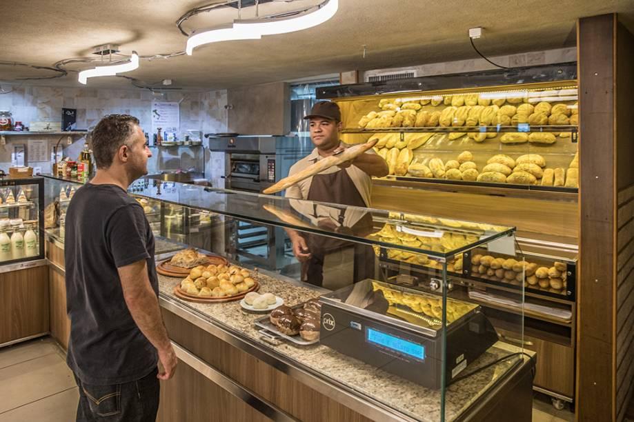 A padaria, confeitaria e galateria pertence os donos da cantina Casa do Sardo