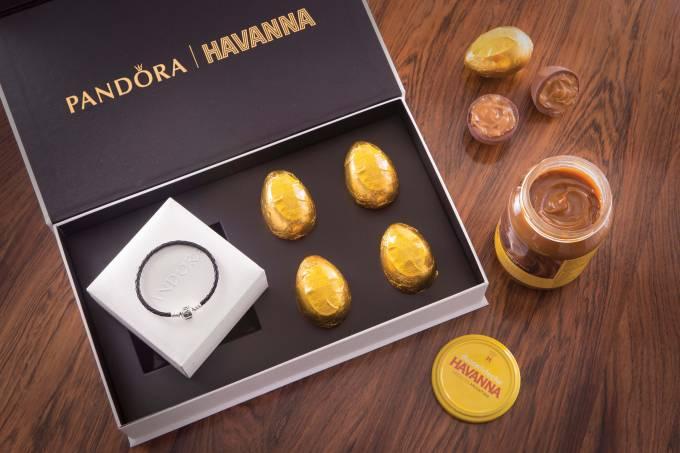 ovo de Páscoa da Havanna + pandora