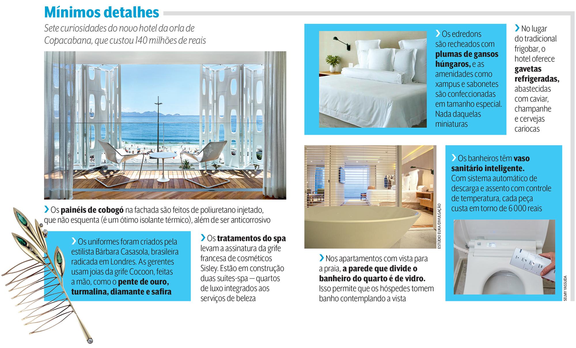 Quadro matéria turismo; Hotel Emiliano