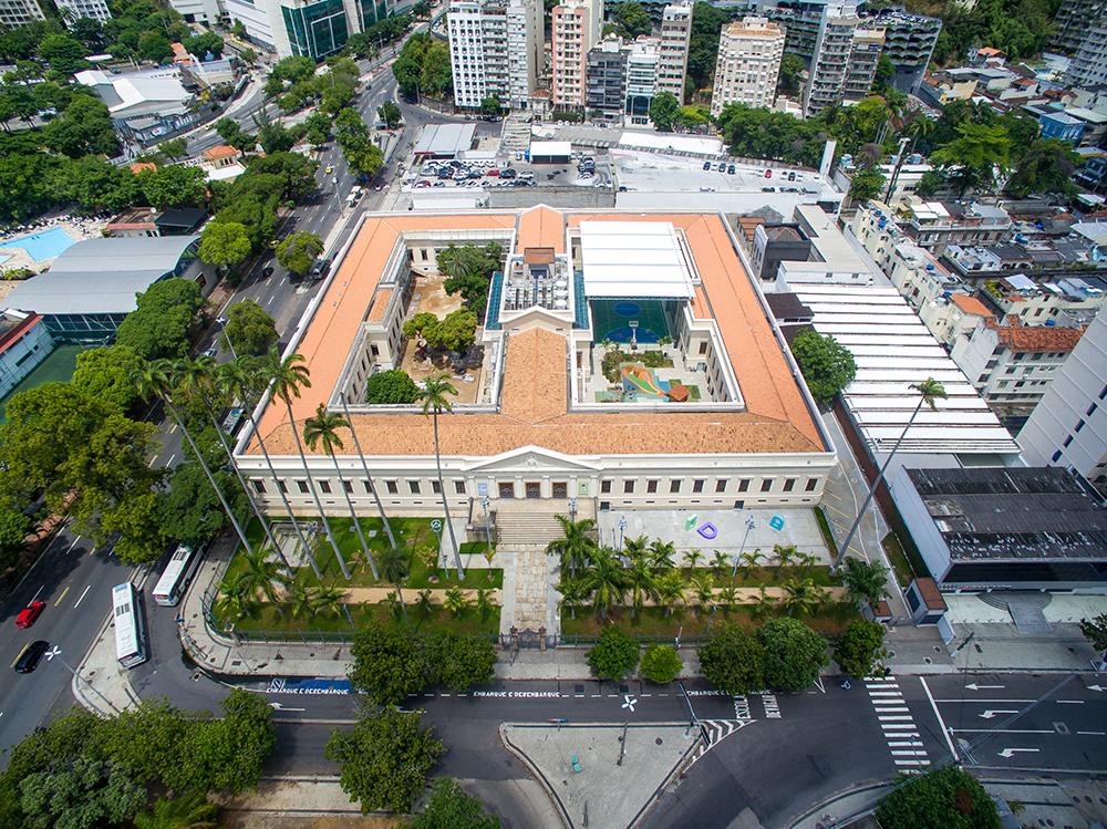A Escola Eleva, em Botafogo: investimento de 100 milhões de reais