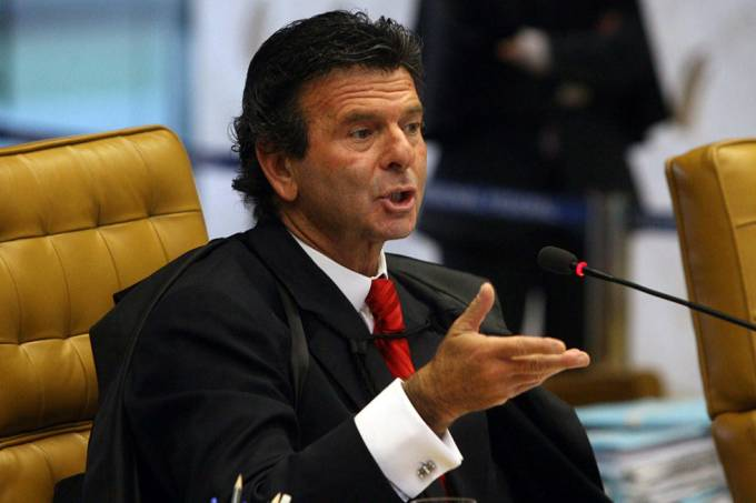 Luiz Fux, ministro do Supremo Tribunal Federal.