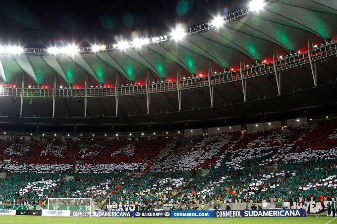 Mosaico Fluminense x Liverpool