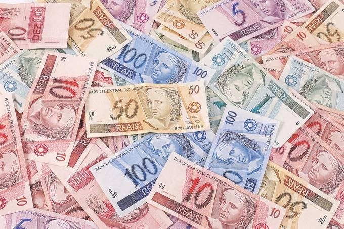 notas de dinheiro