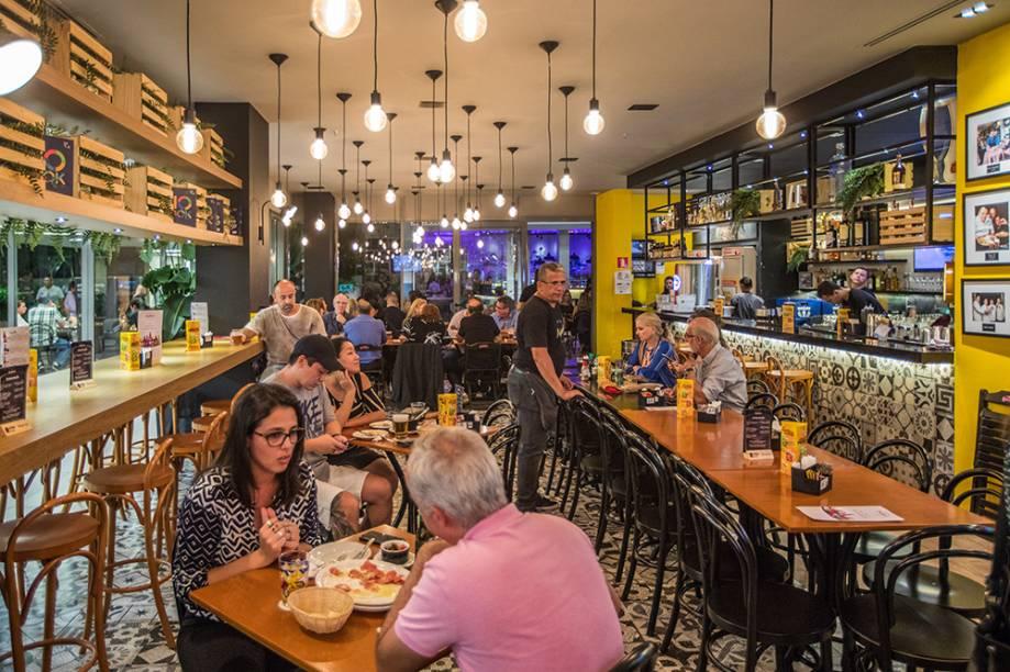 Boteco do Amaral: cozinha comandada por Toninho, do Momo, e Bruno Magalhães, do Botero